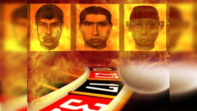 Muestran los retratos robot de tres de los atacantes del casino en Monterrey