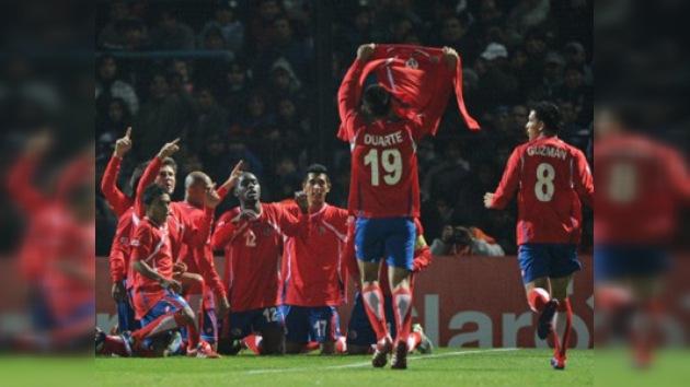 Costa Rica gana a Bolivia y deja abierto el pase en el grupo A