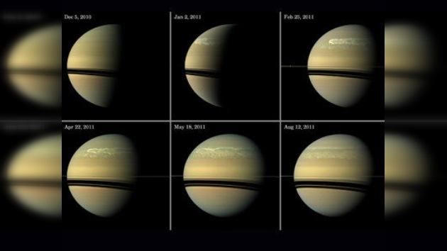 La Gran Mancha Blanca que 'atormentó' a Saturno durante 200 días