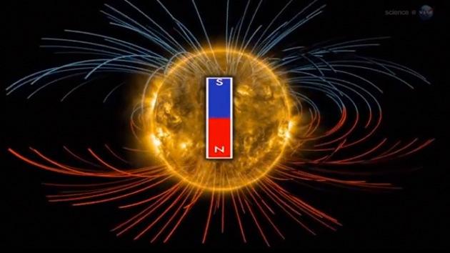 Video: La NASA publica una nueva visualización del 'tirón' magnético del Sol