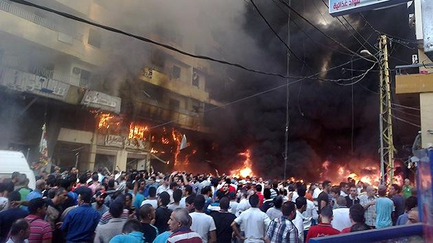 Video: Se registra una fuerte explosión cerca del bastión de Hezbolá en el Líbano