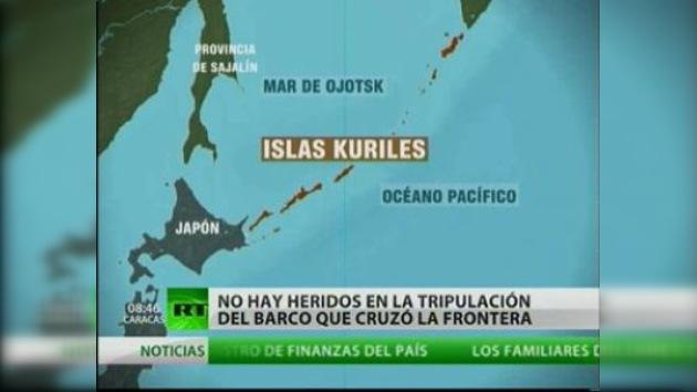 Guardías fronterizos rusos disparan contra dos barcos japoneses