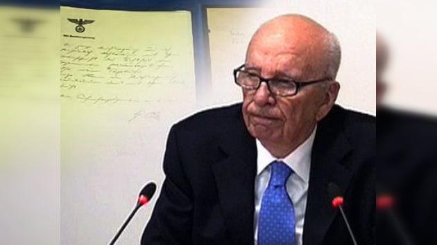"""Murdoch: Publicar los diarios de Hitler fue """"un gran error"""""""