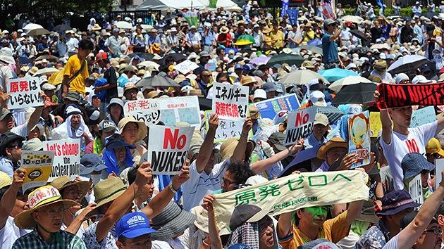 Adiós Fukushima: japoneses salen a la calle contra el uso de la energía nuclear