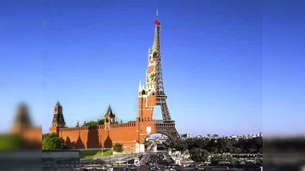 """El año 2010 """"Rendez-vous"""" entre Francia y Rusia"""