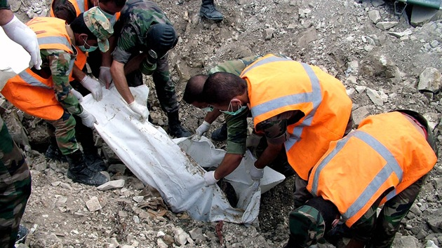 Tropas sirias hallan fosa común con civiles masacrados supuestamente por los rebeldes