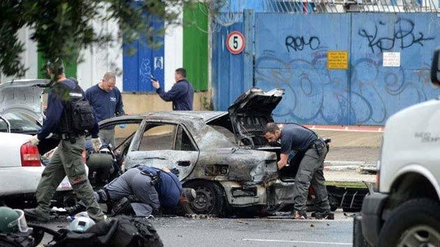 La explosión de un coche en Israel deja al menos dos muertos