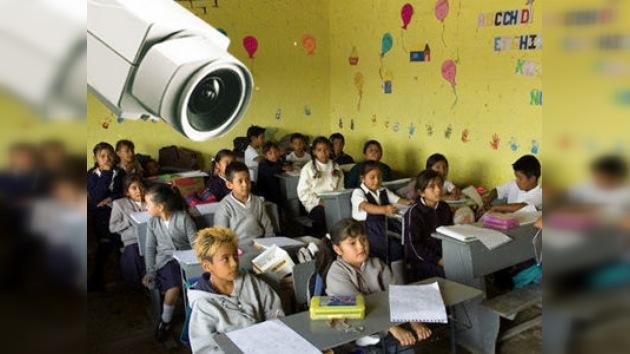 Cámaras de vigilancia y cercas contra los narcos en escuelas mexicanas