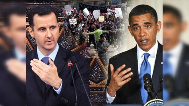 EE. UU. está cerca de ilegalizar al régimen sirio