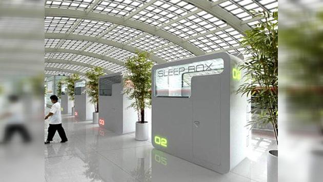 Diseñadores rusos crean tres metros cuadrados de descanso