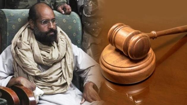 Colisión jurídica: Libia no logra juzgar al hijo de Gaddafi