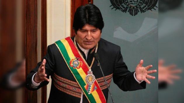 """Evo Morales: """"Digan lo que digan, yo he venido a trabajar por el país"""""""