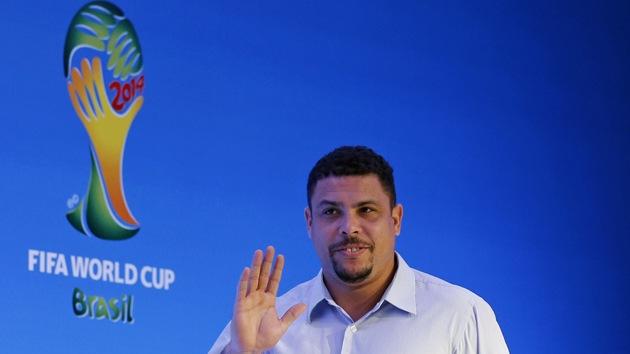 """Ronaldo, """"avergonzado"""" porque el Mundial no legará nada a los brasileños"""