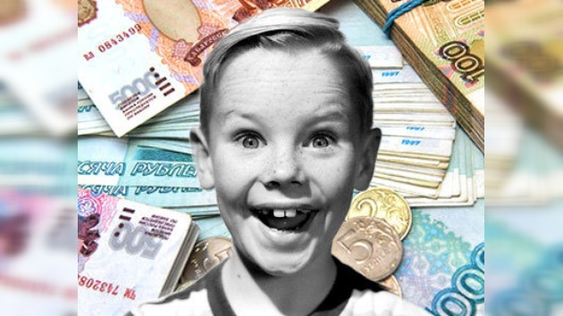 A un cuarto de los rusos le basta tres mil dólares para ser feliz