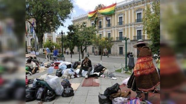 Morales y los indígenas en desacuerdo sobre dónde deben dialogar