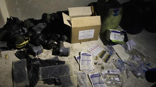 El Reino Unido vendió a Siria material para la fabricación de gas sarín