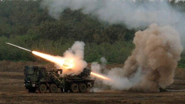 Resultado de imagen de Taiwán ejecuta maniobras militares