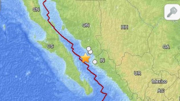Un sismo de magnitud 6,5 sacude México