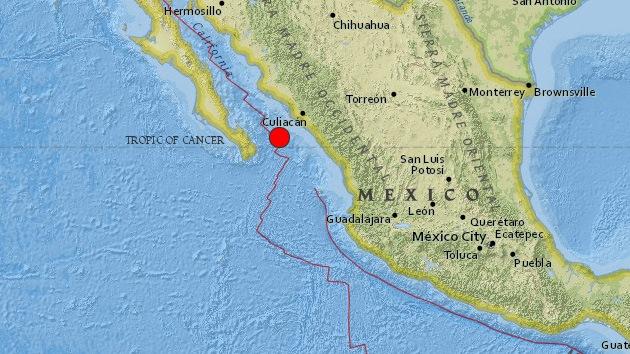 Un terremoto de magnitud 6.2 sacude el golfo de California en México