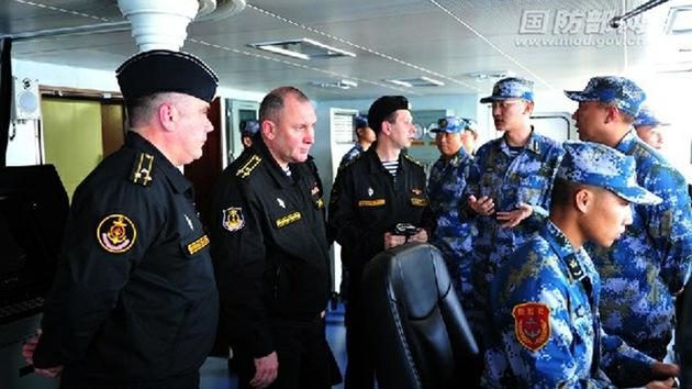 Rusia y China harán maniobras conjuntas en el Mediterráneo