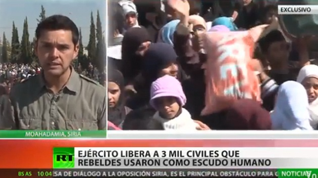 RT en Siria: Civiles liberados de los rebeldes relatan su pesadilla