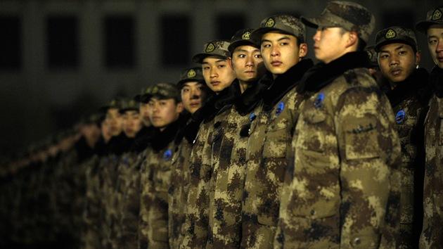 Publican el primer video de una incursión de las tropas de China en el este de India