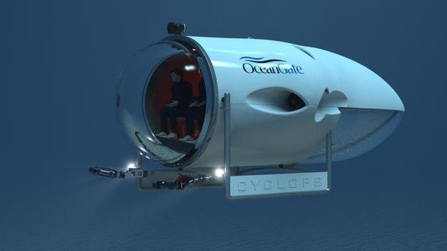 A clase en submarino: Una universidad de EE.UU. construye sumergible para 5 personas