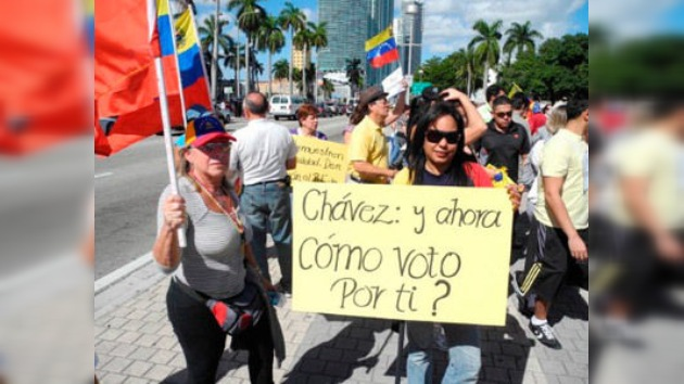 Los venezolanos de Miami exigen la reapertura de su consulado