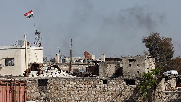 Dos muertos y cien heridos en ataque con gas venenoso en Siria