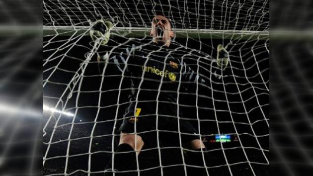 Valdés bate el récord de imbatibilidad en el FC Barcelona