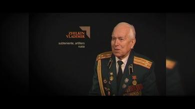 """""""TESTIGOS DE LA GUERRA"""". Zhilkin Vladímir : subteniente, artillero. Rusia"""