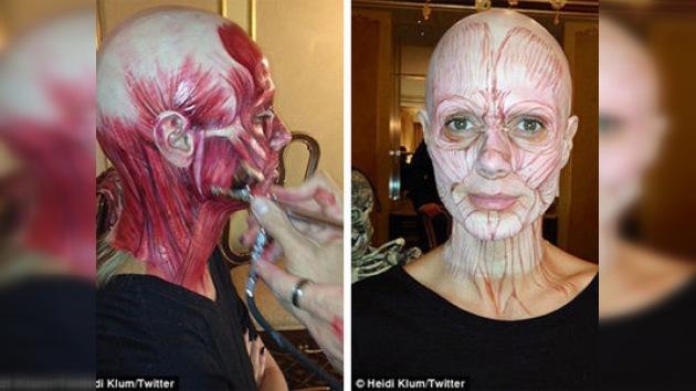 Heidi Klum, un año más la reina de Halloween