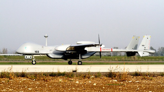 Europa prueba con éxito un drone en España