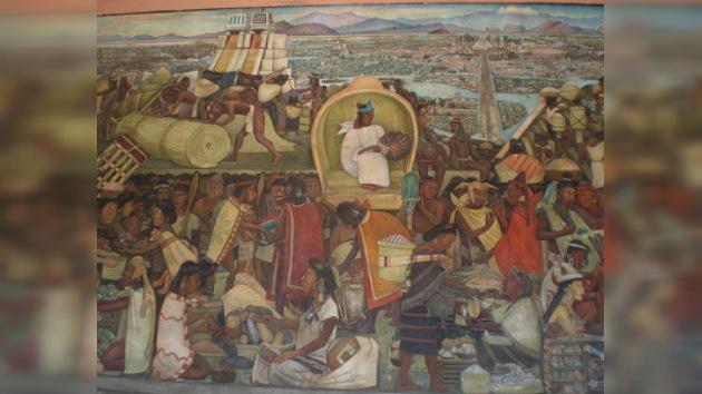Hallan una escuela azteca en el centro histórico de la Ciudad de México