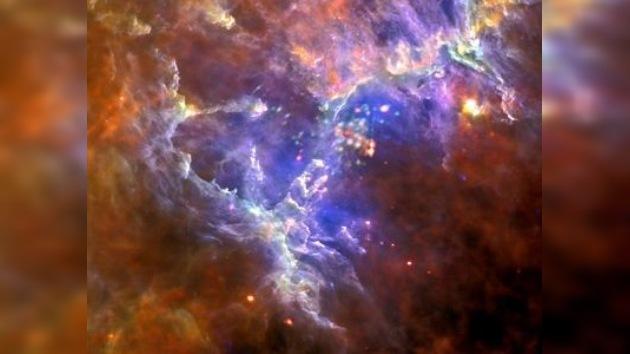 Nebulosa a la vista: los astrónomos ven 'más allá' de los 'pilares de la Creación'