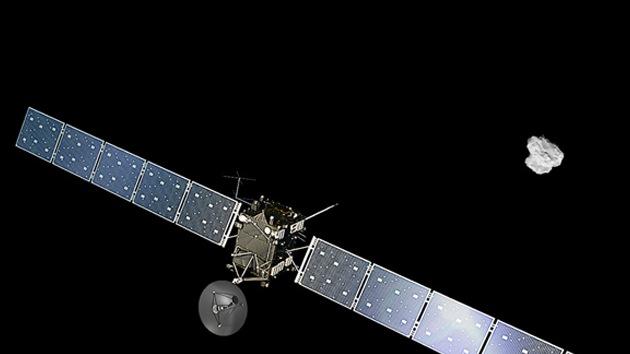 VIDEO, FOTOS: La sonda espacial Rosetta alcanza el cometa 67P