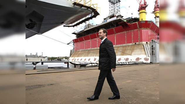 Medvédev: el crecimiento del PIB puede alcanzar hasta un 5%