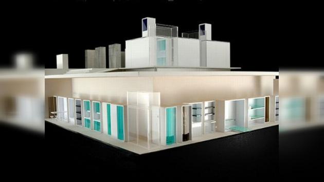 La primera casa solar desmontable