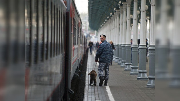 La Policía no encontró explosivos en las estaciones ferroviarias de Moscú