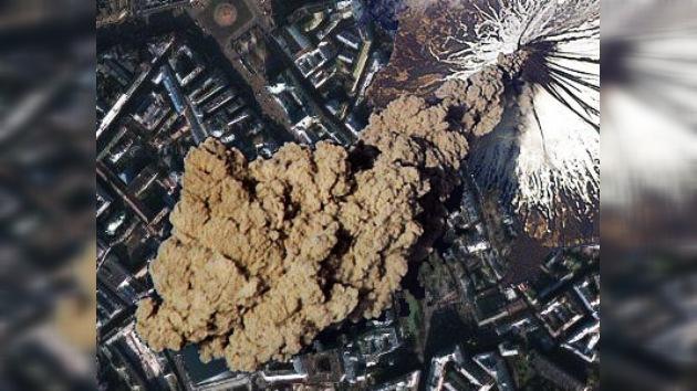 Un verdadero volcán despertó en la provincia de Moscú