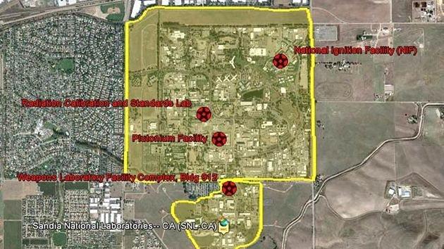 Google Earth 'destapa' las instalaciones nucleares de EE.UU.