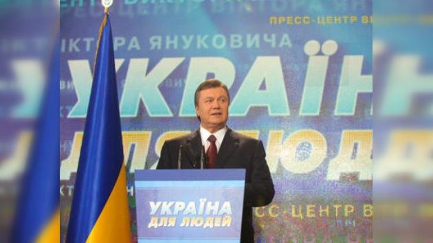Yanukóvich gana las presidenciales en Ucrania tras contarse todos los votos