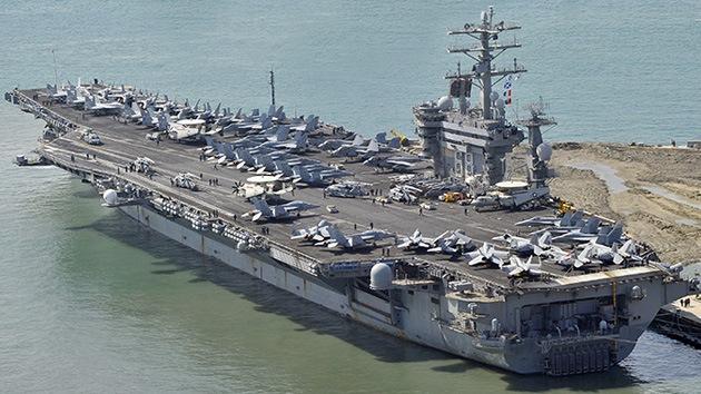 El portaaviones de EE.UU. Nimitz ha sido enviado a reforzar un posible ataque a Siria