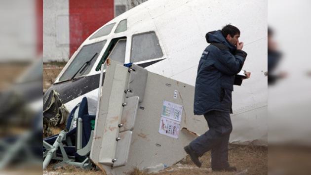 Las 'cajas negras' revelan nuevos datos sobre el percance con el Tu-154