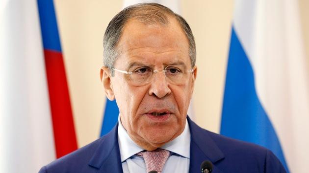 """Lavrov: """"EE.UU. empuja al Gobierno ucraniano al camino de la confrontación"""""""