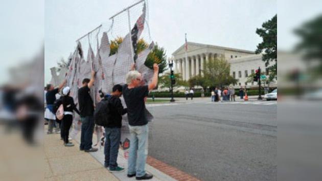 Detienen en Washington a unos activistas contra la pena de muerte