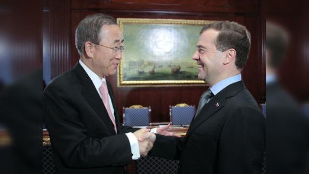 Ban Ki-moon: 'Rusia tiene un papel especial en la solución de los retos globales'