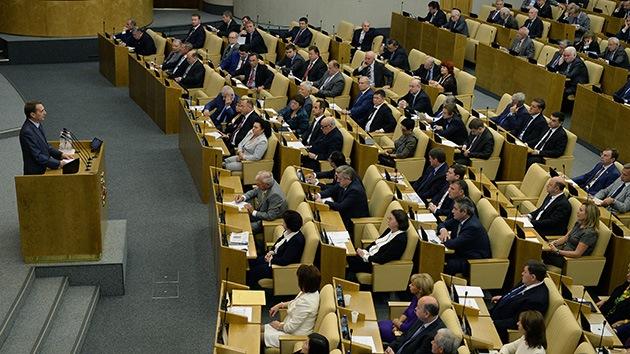 Presidente del Parlamento ruso: EE.UU. sabía de antemano que se usarían armas químicas en Siria