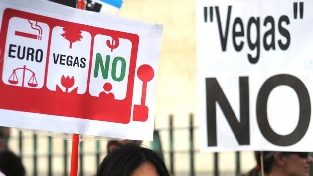 El Gobierno de España rechaza la instalación del complejo de ocio Eurovegas