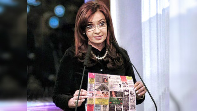 """Argentina dice """"no"""" a la publicidad sexual en los medios"""